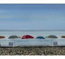 Seaside parasols Sticker