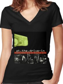 At the Drive In - This Station Is Non Operational Women's Fitted V-Neck T-Shirt