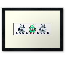Funny Cows Framed Print