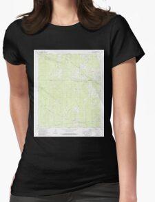 USGS TOPO Map Arkansas AR Mc Kinney 259065 1973 24000 Womens Fitted T-Shirt