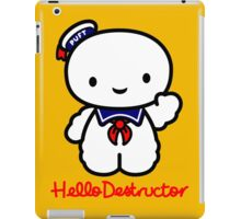 Hello Destructor iPad Case/Skin