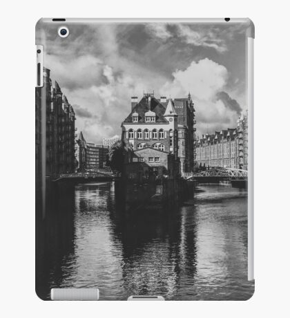 point of wiew of hamburg iPad Case/Skin
