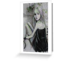 Blackdress Greeting Card