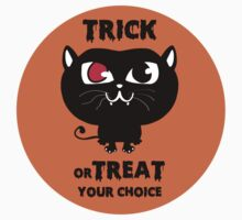 Trick or Treat, your choice.... Kids Tee