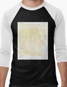 USGS TOPO Map Arkansas AR Bragg City 258052 1971 24000 Men's Baseball ¾ T-Shirt