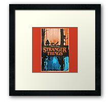New Merchandise STRANGER THINGS Framed Print