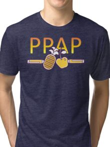 PPAP - Pen Pineapple Apple Pen Tri-blend T-Shirt