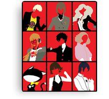 Persona 5 cast Canvas Print