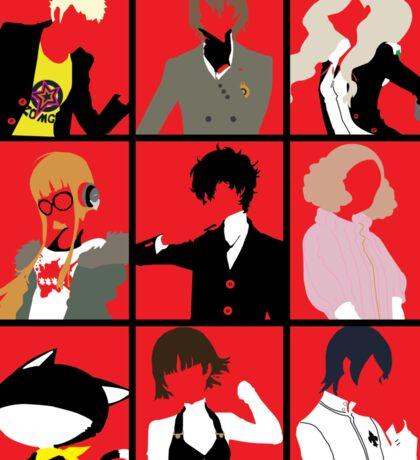 Persona 5 cast Sticker