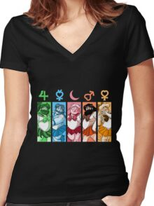 SailorBear  Women's Fitted V-Neck T-Shirt