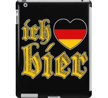 Classic Ich Liebe Bier I Love Beer iPad Case/Skin