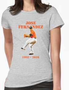 tribute to jose Womens Fitted T-Shirt