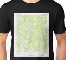 USGS TOPO Map Arkansas AR Harriet 258670 1963 24000 Unisex T-Shirt