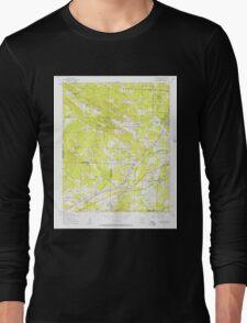 USGS TOPO Map Arkansas AR Alexander 257847 1954 24000 Long Sleeve T-Shirt