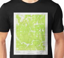 USGS TOPO Map Arkansas AR Oxley 259331 1973 24000 Unisex T-Shirt