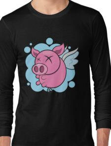 Pigs might fly Long Sleeve T-Shirt