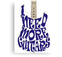 I need more guitars Canvas Print