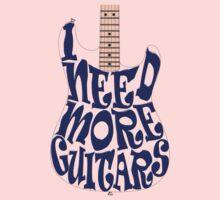 I need more guitars Kids Clothes