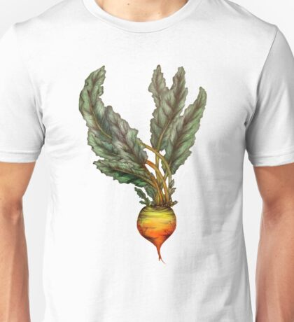 Rooted: The Golden Beet Unisex T-Shirt