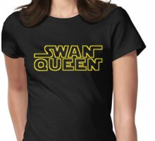 MAY THE SWAN QUEEN BE WITH YOU Womens Fitted T-Shirt