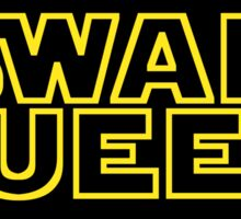 MAY THE SWEN BE WITH YOU Sticker
