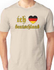 Classic Ich Liebe Deutschland I Love Germany Unisex T-Shirt