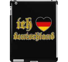 Classic Ich Liebe Deutschland I Love Germany iPad Case/Skin