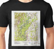 USGS TOPO Map Arkansas AR Augusta 259982 1957 62500 Unisex T-Shirt