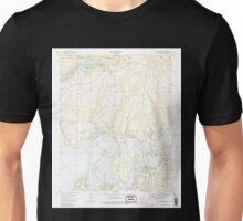 USGS TOPO Map Arkansas AR Brownsville 258066 1973 24000 Unisex T-Shirt