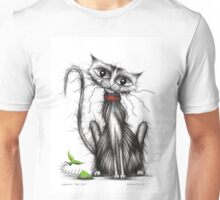 Greedy the cat Unisex T-Shirt
