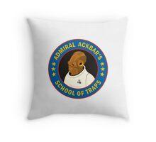 Admiral Ackbar's School of Traps Throw Pillow