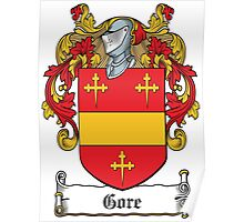 Gore Coat of Arms (Donegal, Ireland) Poster