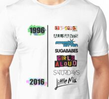 20 years of Girls Bands Unisex T-Shirt