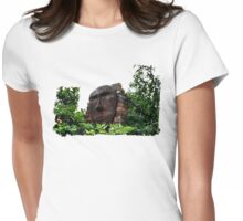 Watching over Mother Nature Womens Fitted T-Shirt
