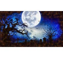 Halloween Horror Night Photographic Print