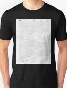 USGS TOPO Map Arkansas AR Nimrod 20110713 TM Unisex T-Shirt