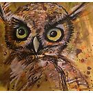 The Owl  by Tracey Pearce
