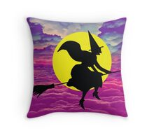 Halloween Wicked Throw Pillow