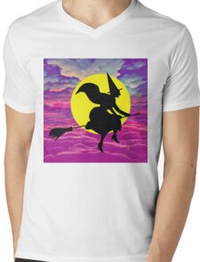 Halloween Wicked Mens V-Neck T-Shirt