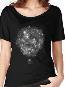 Galaxy Ballon Women's Relaxed Fit T-Shirt