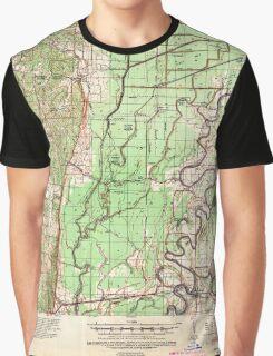 USGS TOPO Map Arkansas AR Princedale 260261 1940 62500 Graphic T-Shirt