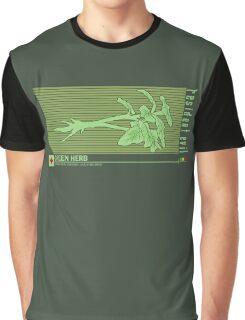 Resident Evil Green Herb Graphic T-Shirt