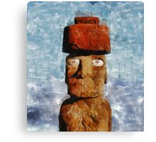 Easter Island Canvas Print