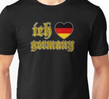 Classic Ich Liebe - I Love Germany Unisex T-Shirt