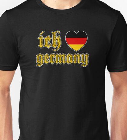 Classic Ich Liebe - I Love Germany Unisex T-Shirt
