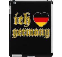 Classic Ich Liebe - I Love Germany iPad Case/Skin