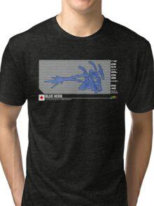 Resident Evil Blue Herb Tri-blend T-Shirt