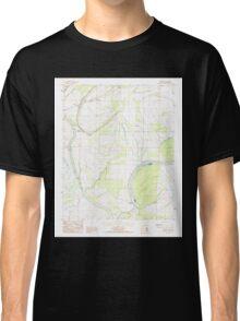 USGS TOPO Map Arkansas AR Brickeys 258061 1984 24000 Classic T-Shirt