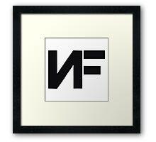 NF Rapper Merchandise Framed Print