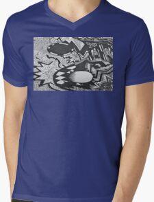 karma Mens V-Neck T-Shirt